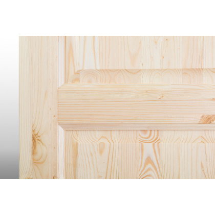 Дверное полотно М12 глухое, лак  40х700х2000