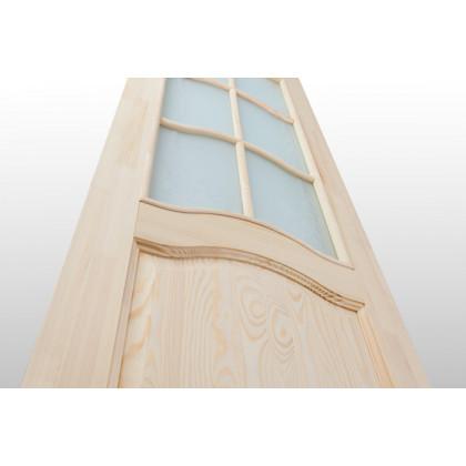Дверное полотно М7 со стеклом 40х800х2000