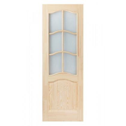 Дверное полотно М7 со стеклом 40х700х2000