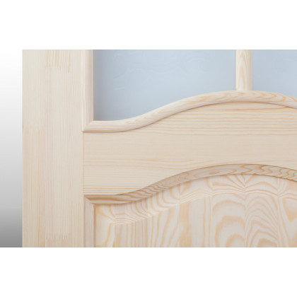 Дверное полотно М7 со стеклом 40х600х2000