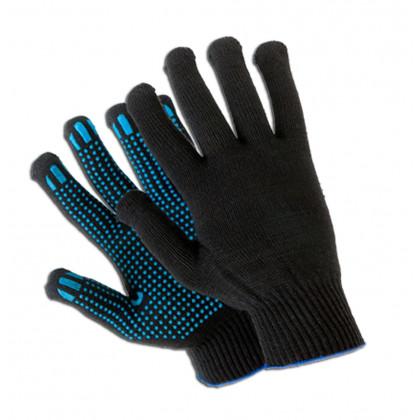 Перчатки с ПВХ 5 нитей, 10 кл.