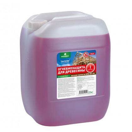 PROSEPT ОГНЕБИО PROF-1 огнебиозащита 1-ая группа, 20 литров