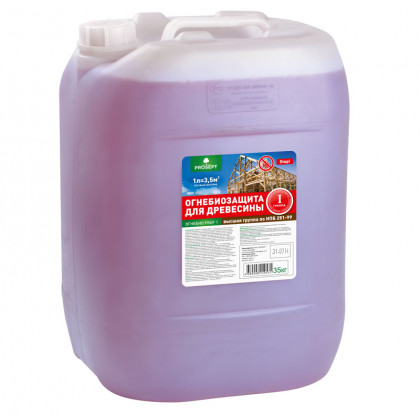 PROSEPT ОГНЕБИО PROF-1 огнебиозащита 1-ая группа, 30 литров