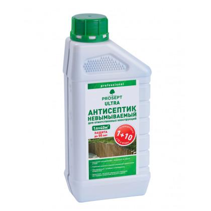PROSEPT ULTRA - невымываемый  для внутренних и наружных работ  концентрат 1:10, 1 литр
