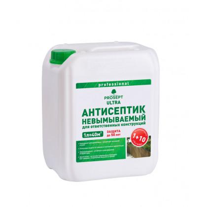 PROSEPT ULTRA - невымываемый  для внутренних и наружных работ  концентрат 1:10, 5 литров