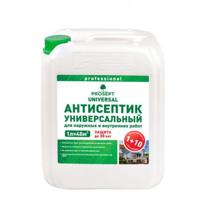 PROSEPT UNIVERSAL - для внутренних и наружных работ  концентрат 1:10, 5 литров