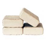 Топливные брикеты RUF  БЕРЕЗА (ПЫЛЬ) , упаковка 10 кг, 12 шт.