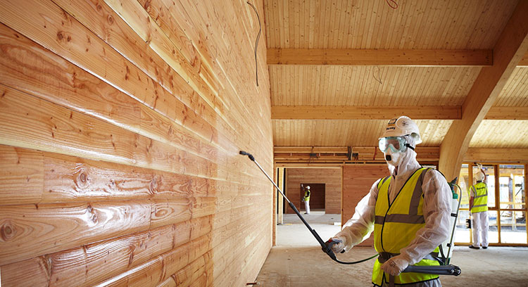 антисептирование стен в деревянном доме