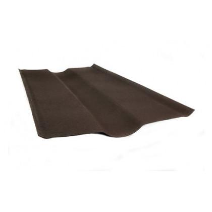 Ендова коричневая SMART/Черепица (Onduline) 1х0,5 м.