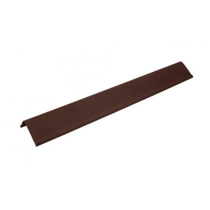 Щипец коричневый SMART/Черепица (Onduline) 1х0,21 м