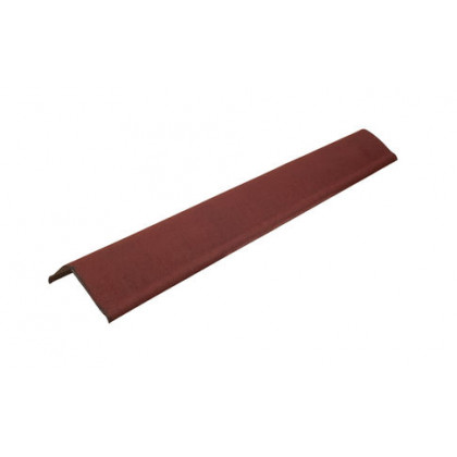 Щипец красный SMART/Черепица (Onduline) 1х0,21 м