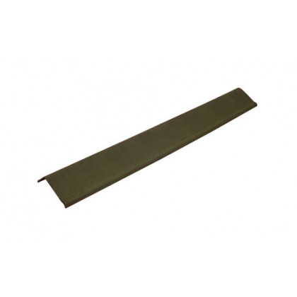 Щипец зеленый SMART/Черепица (Onduline) 1х0,21 м
