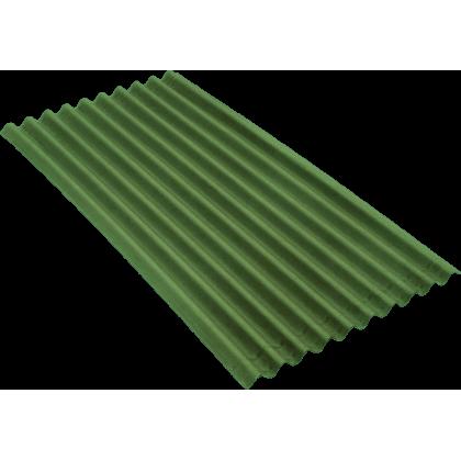 Ондулин SMART зеленый (Onduline) лист 1,95х0,95 м.