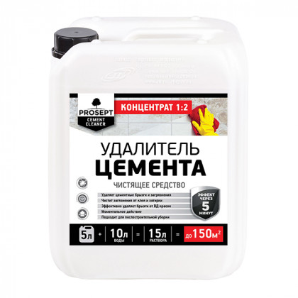 CEMENT CLEANER - удалитель цемента 5л