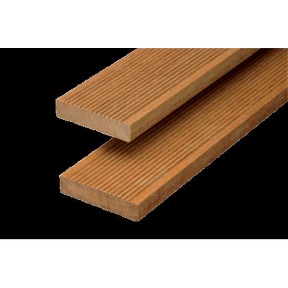 Террасная доска (лиственница, вельвет) 27х143х4000 Сорт АВ