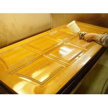Художественная обработка древесины бесцветными отделочными материалами