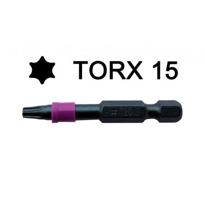 Бита TORX 15 (проф) 50 мм (шт)