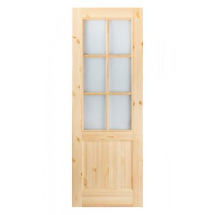 Дверь М12 в комплекте , стекло, лак   40х900х2000