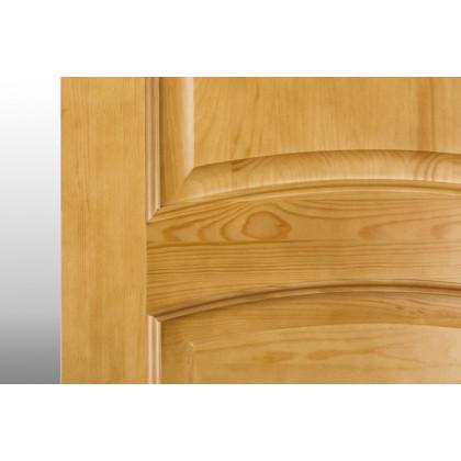 Дверь М9 в комплекте, глухая, лак орех 40х600х2000