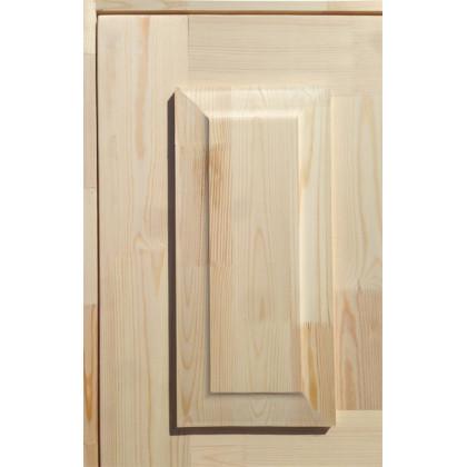Дверь входная, утепленная, хвоя , 870х2070 с коробкой