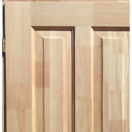 Дверь 970х2070 с коробкой и финскими петлями и замком
