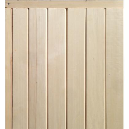 Дверь банная (осина), без сучков, с коробкой 770*1770