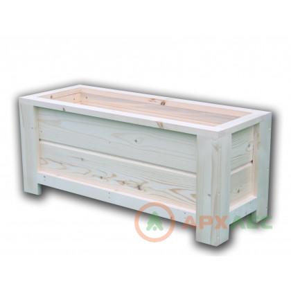 Кашпо деревянное 340х300х800 (в/г/ш)