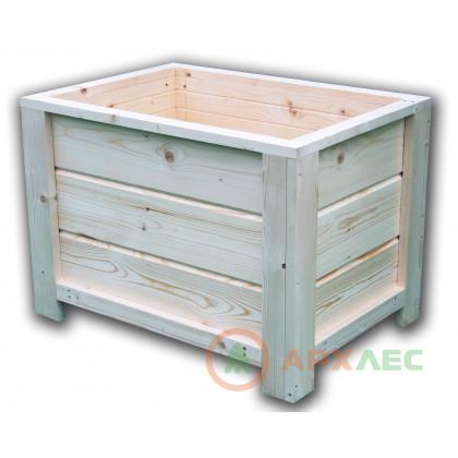 Кашпо деревянное 450х450х600 (в/г/ш)