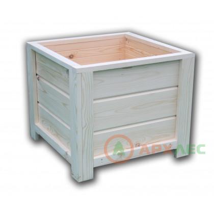 Кашпо деревянное 560х560х480 (в/г/ш)