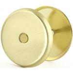 Ключевина (заглушка) для замка  глухая золото