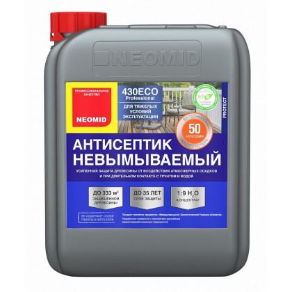 Антисептик NEOMID 430 eco консервант, невымываемый, концентрат 1:9 5л