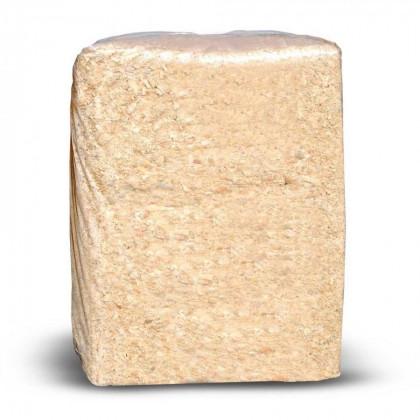 Опилки сухие в брикетах 30-35 кг (цена за 1 кг)