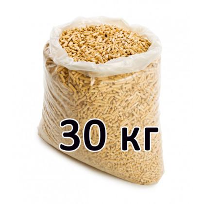 Пеллеты топливные светлые 6 мм (хвоя, мешок 30 кг)