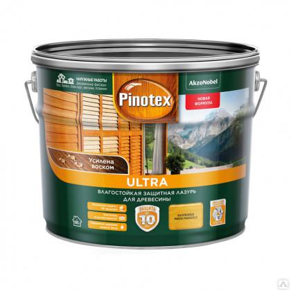 Антисептик PINOTEX ULTRA белый (9л)