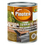 Масло для терасс Pinotex Wood&Terrace Oil бесцветное 1 л
