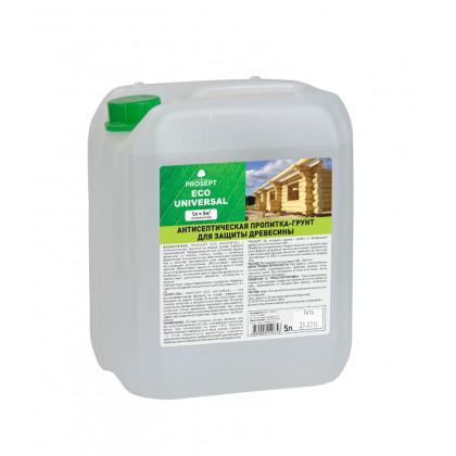 PROSEPT ECO UNIVERSAL - антисептик-грунт для древесины гот.состав, 5 литров