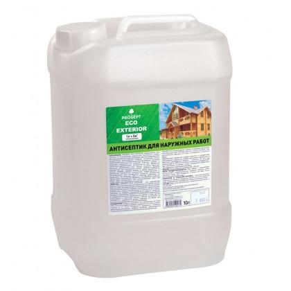 PROSEPT ECO EXTERIOR - для наружных работ гот.состав, 10 литров