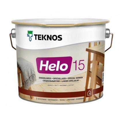 Текнос HELO 15 матовый уретано-алкидный лак  2,7 л.