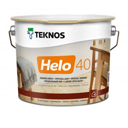 Текнос HELO 40 п/глян. уретано-алкидный лак  2,7 л.
