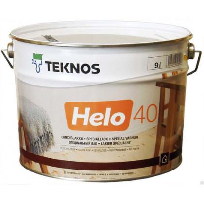Текнос HELO 40 п/глян. уретано-алкидный лак  9 л.
