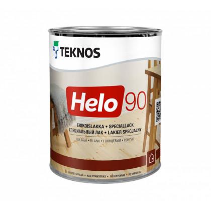 Текнос HELO 90 глянцевый уретано-алкидный лак  0,9 л.