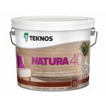 Текнос NATURA 40 п/гл. водный лак для внутренних работ 2,7 л.