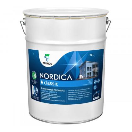 Текнос NORDICA CLASSIC п/мат.  краска для деревянных фасадов 18 л.