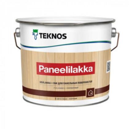 Текнос PANEELILAKKA водный лак для стен и потолков 2,7 л.