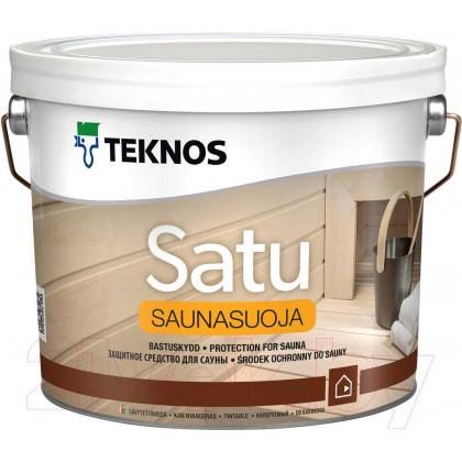 Текнос SATU SAUNASUOJA защитное средство для саун 9 л.