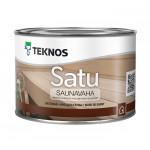 Текнос SATU SAUNAVAHA воск бесцв для дер. поверхностей 0,45 л.