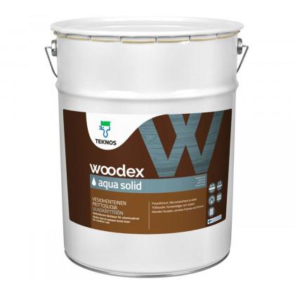Текнос WOODEX AQUA SOLID кроющий антисептик 18 л.