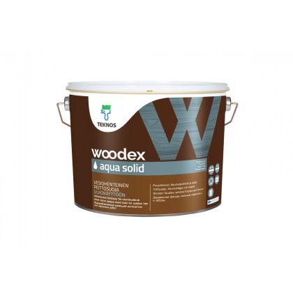 Текнос WOODEX AQUA SOLID кроющий антисептик 9 л.