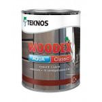 Текнос WOODEX AQUA CLASSIC лессирующий антисептик 0,9 л.