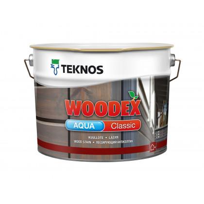 Текнос WOODEX AQUA CLASSIC лессирующий антисептик 2,7 л.